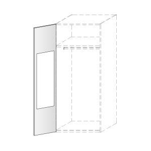 Elementos independientes, ejemplo de espejo interior