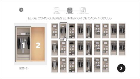 Configurador armario