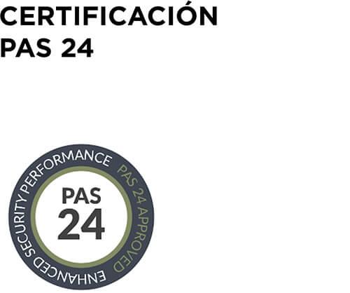 CERTIFICACIÓN PAS 24